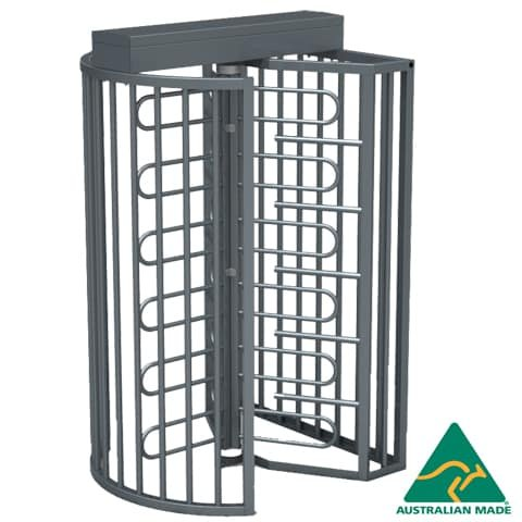 Rotech's Australian Made TriStar Full Height Turnstile