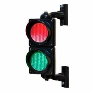 100mm Red and Green Traffic Lights
