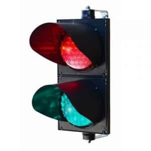 200mm Red and Green Traffic Lights