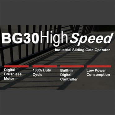 BG30 Industrial Sliding Gate Operator Blog image