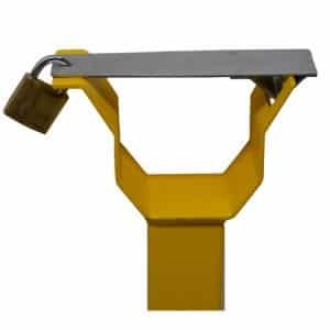 Sentinel MB2 Manual Boom Gate catch post with padlock