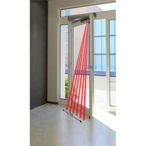 SafePass SSS-5 Infrared Automatic Swing Door Safety Sensor detection area