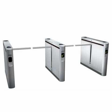 Swift Lane D66 Rapid Access Gate | Drop Arm Turnstile