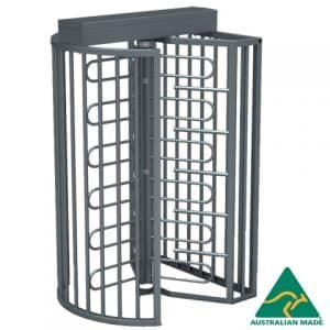 TriStar F21 Full Height Australian Made Security Turnstile