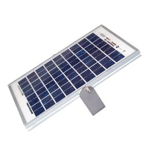 25w Solar power kit with solar panel, mounting bracket, regulator and 7 Ah battery (not suitable for AG&BK boom gates)